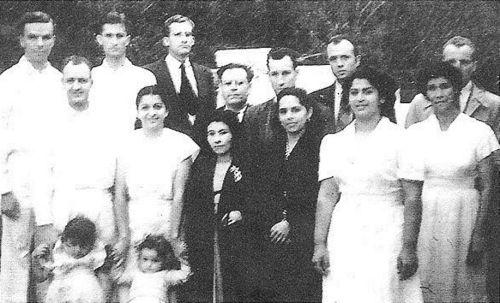 Baptism of Carmen Galves O'Donnal