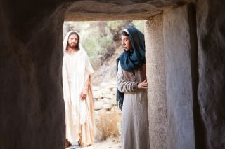 Jesus Christ. Appearance to Mary Magdalene