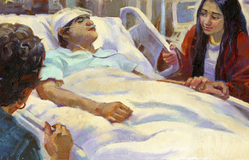 Loved one in hospital