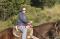 Dora Pieper on Horseback