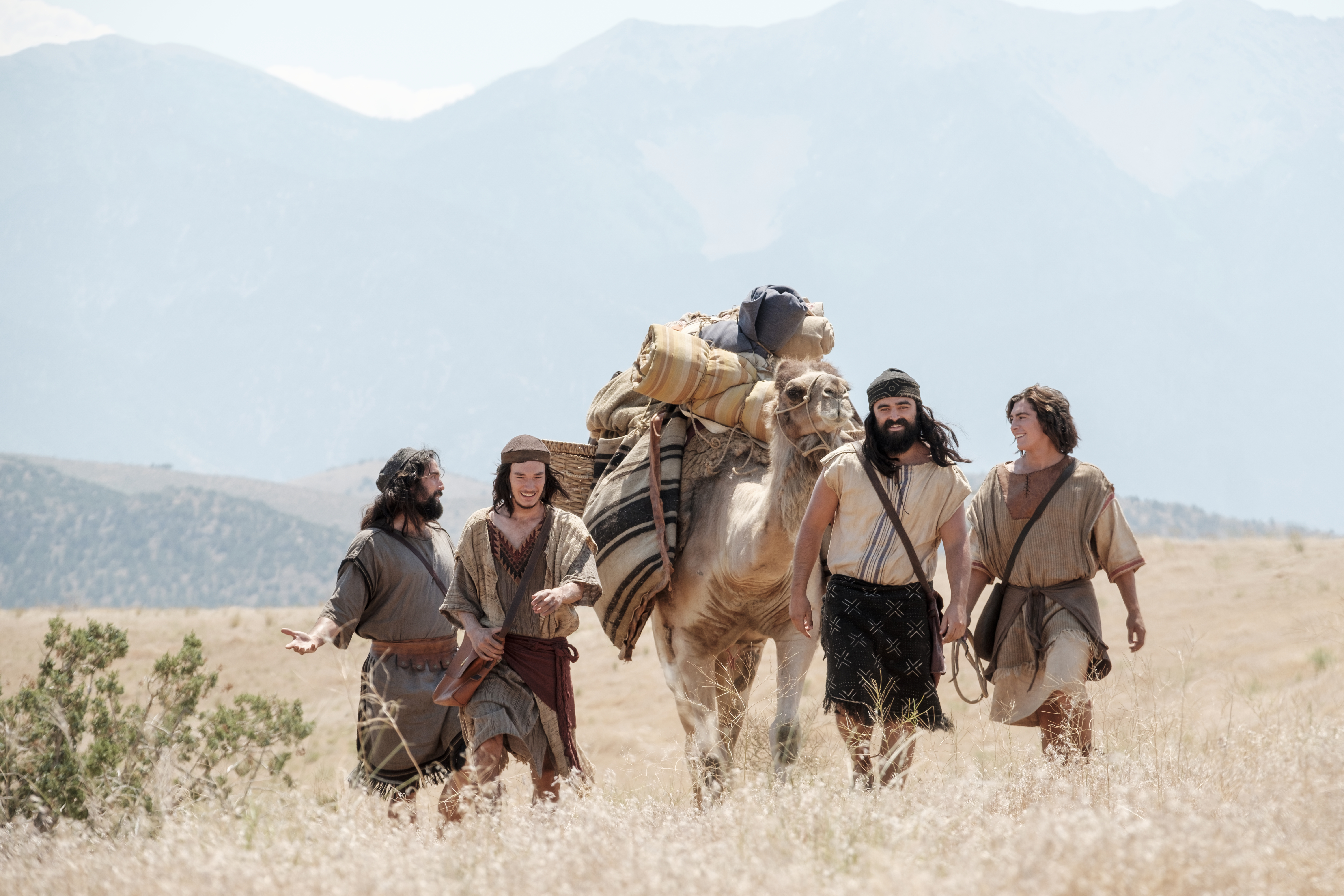 Nephi and his brothers travel to Ishmael's house.