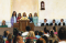 Young Women singing, or speaking in a sacrament meeting