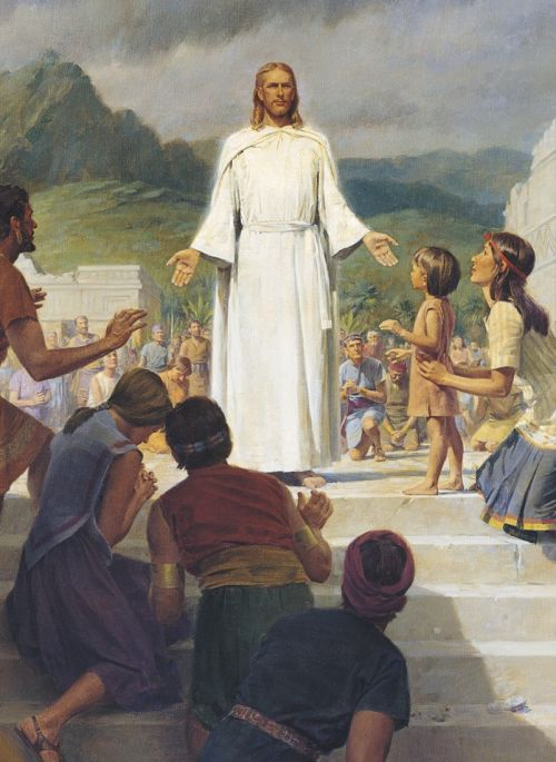 Jesus Christ Visits the Americas