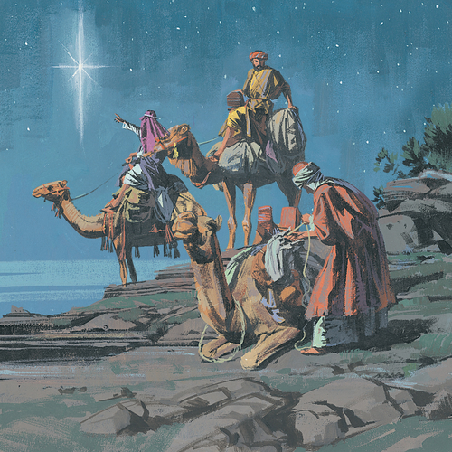 wise men seeing new star
