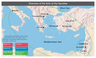 Overview of the Acts of the Apostles