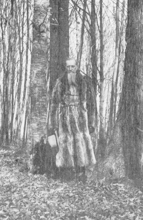 Joseph F. Smith in the Sacred Grove in 1905