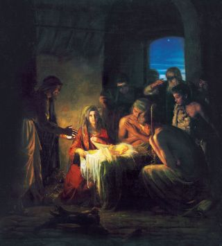 The Birth of Christ, by Carl Heinrich Bloch
