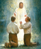 John the Baptist Appearing to Joseph Smith and Oliver Cowdery