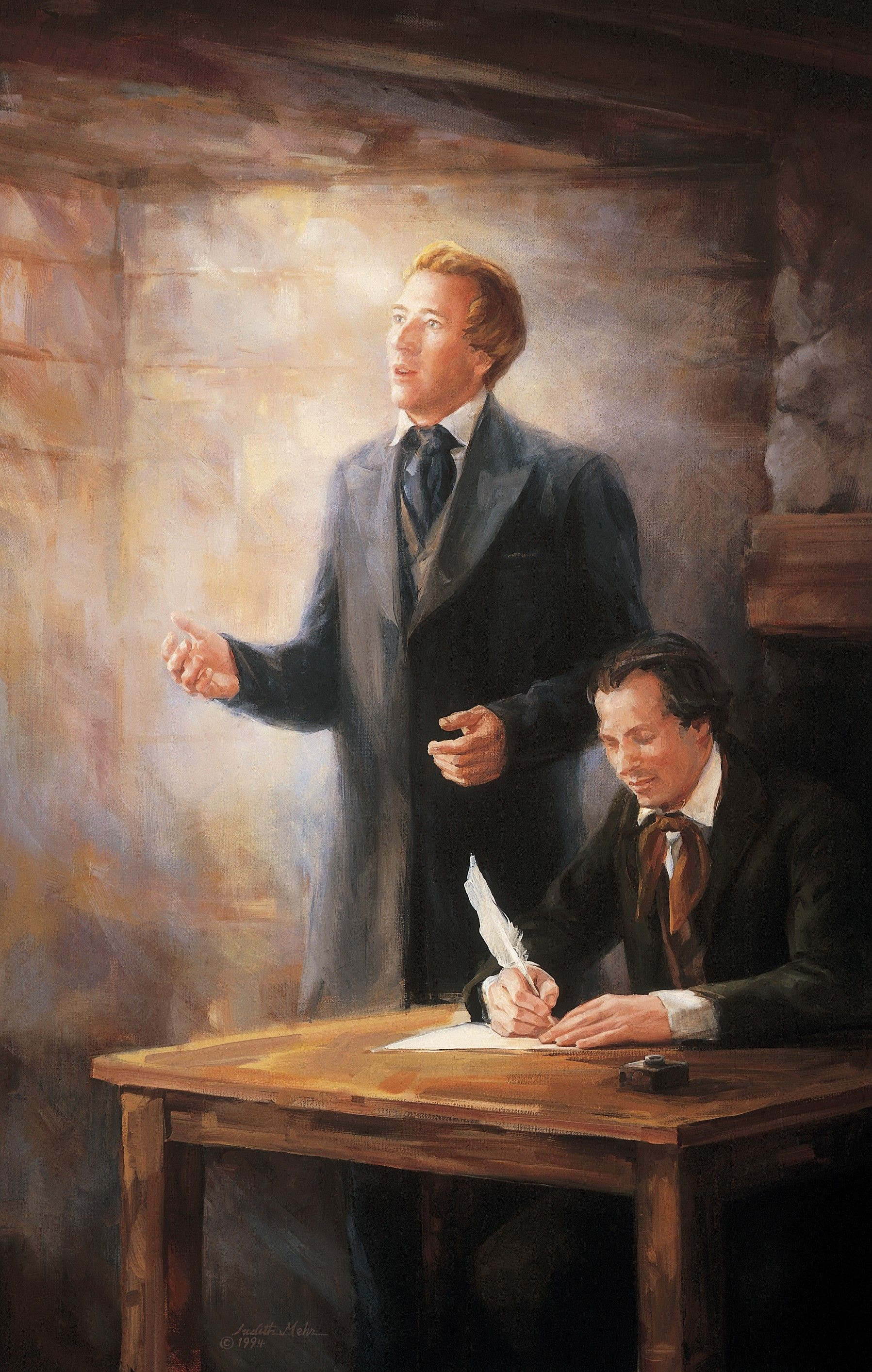 Revelation Given to Joseph Smith at the Organization of the Church, by Judith A. Mehr