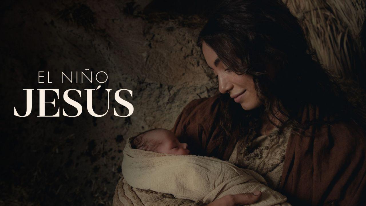 María sostiene al Niño Jesús