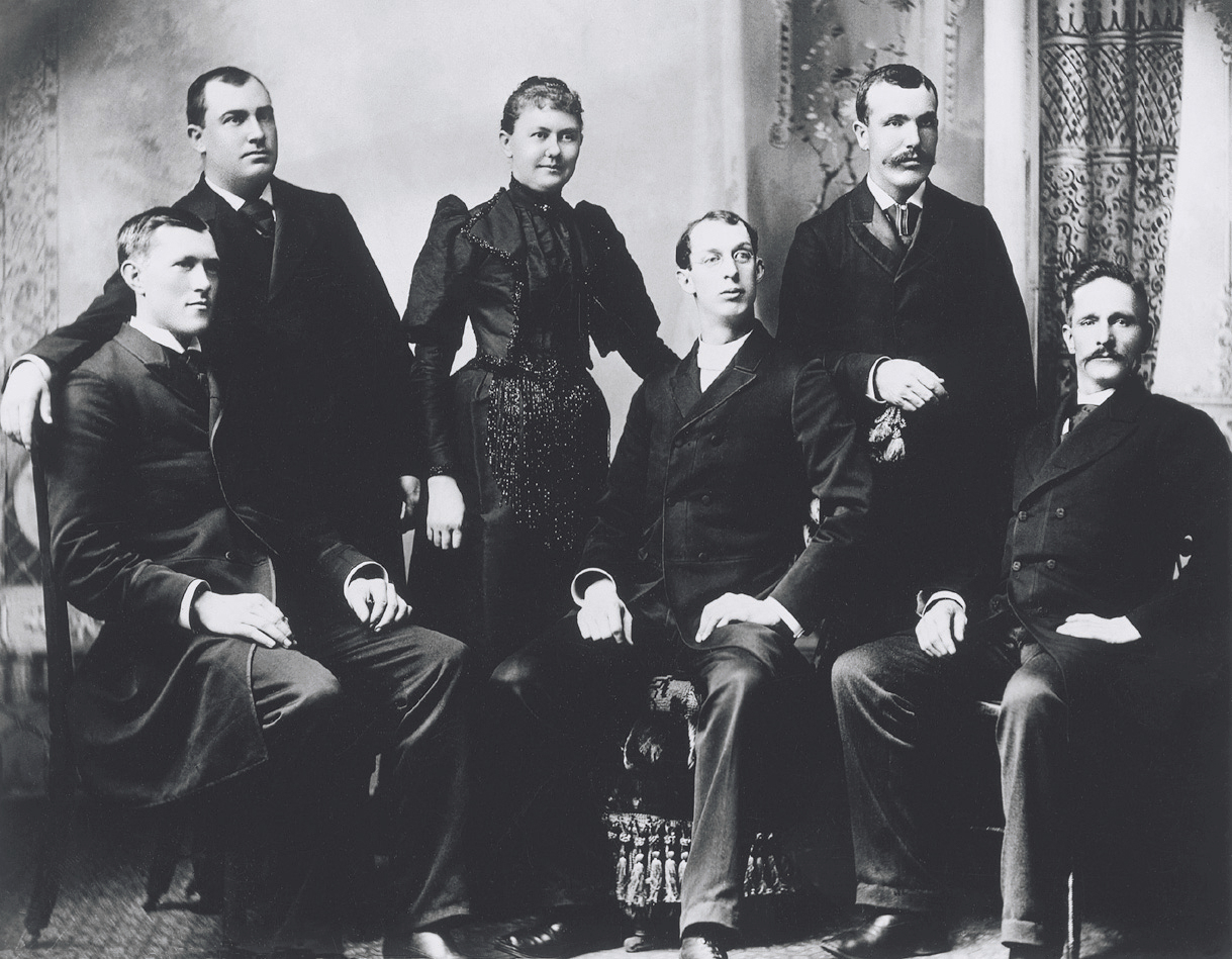 George Albert Smith at a missionary conference in Chattanooga, Tennessee, 1893. Teachings of Presidents of the Church: George Albert Smith (2011), xvii