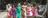 girls walking arm in arm