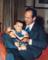 Prezidentas Nelsonas ir jo sūnus