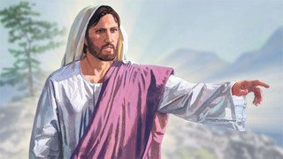 An artist rendition of Christ