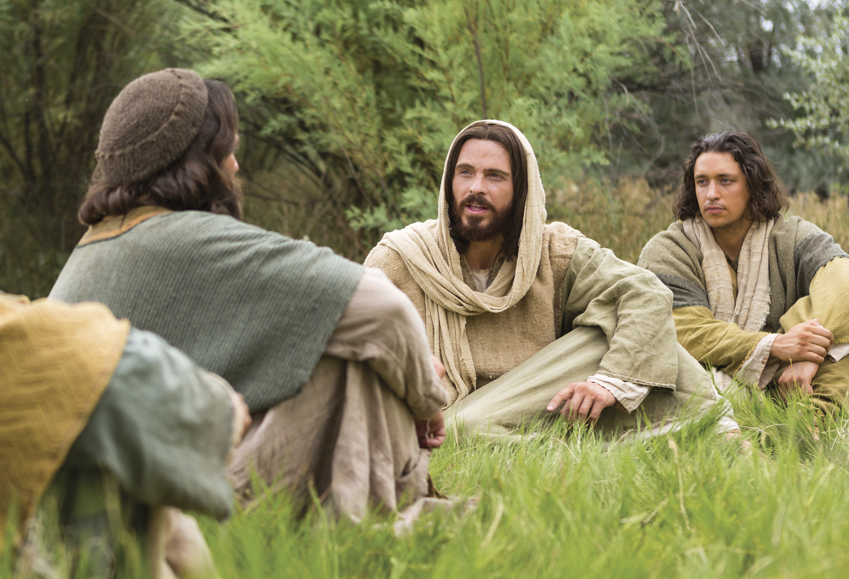 "Simon Peter answers Christ and tells Him, ""Thou art the Christ."""