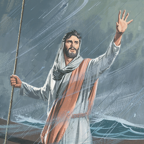 Image result for jesus commands the waves