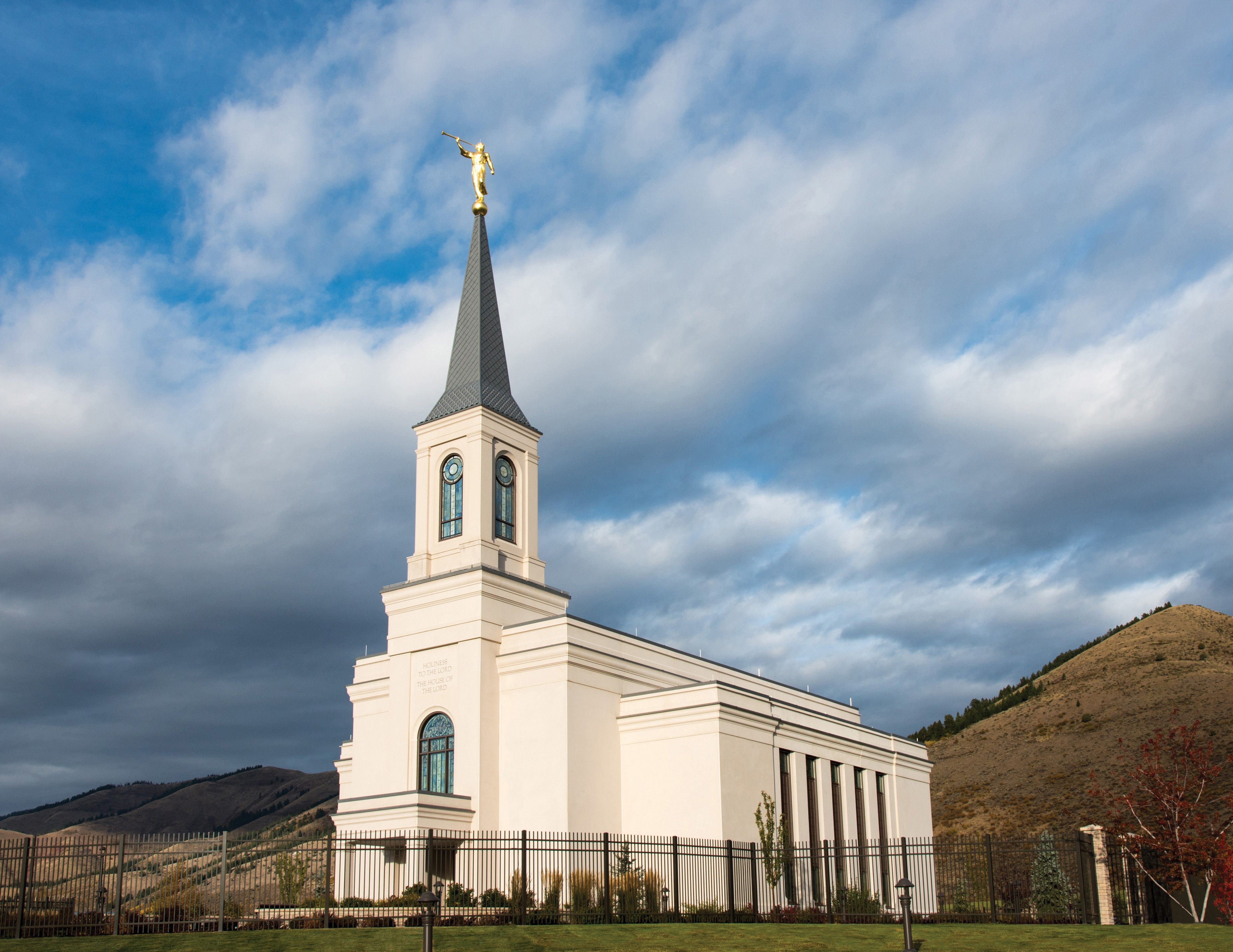 The Star Valley Wyoming Temple.