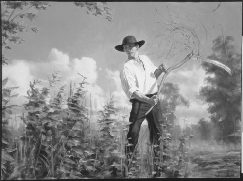 Hyrum Smith Clearing Land