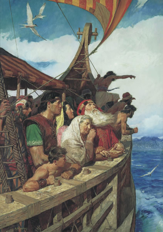 Lehi and His People Arrive in the Promised Land, English