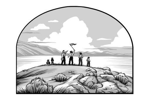 Saints V2 illustration - Ensign Peak