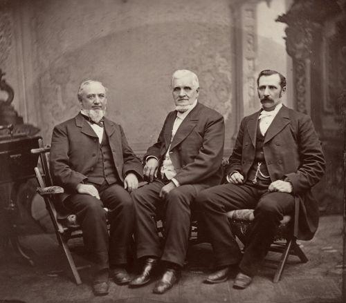 [First Presidency, ca. 1880]