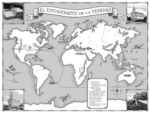 The STANDARD of TRUTH Map
