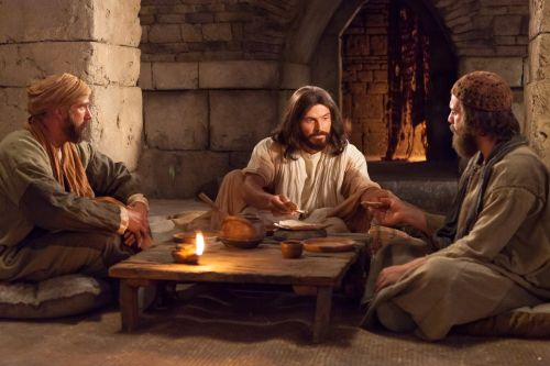 Jesus Christ. Road to Emmaus