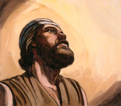 Elijah listening to God