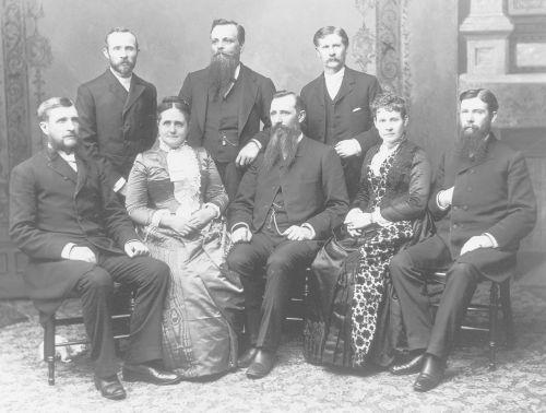 Church history. Territorial period, 1847-1896