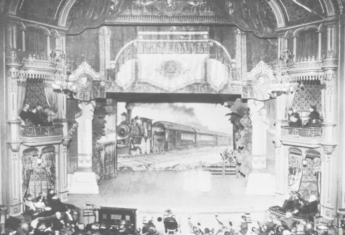 Salt Lake Theater interior about 1900