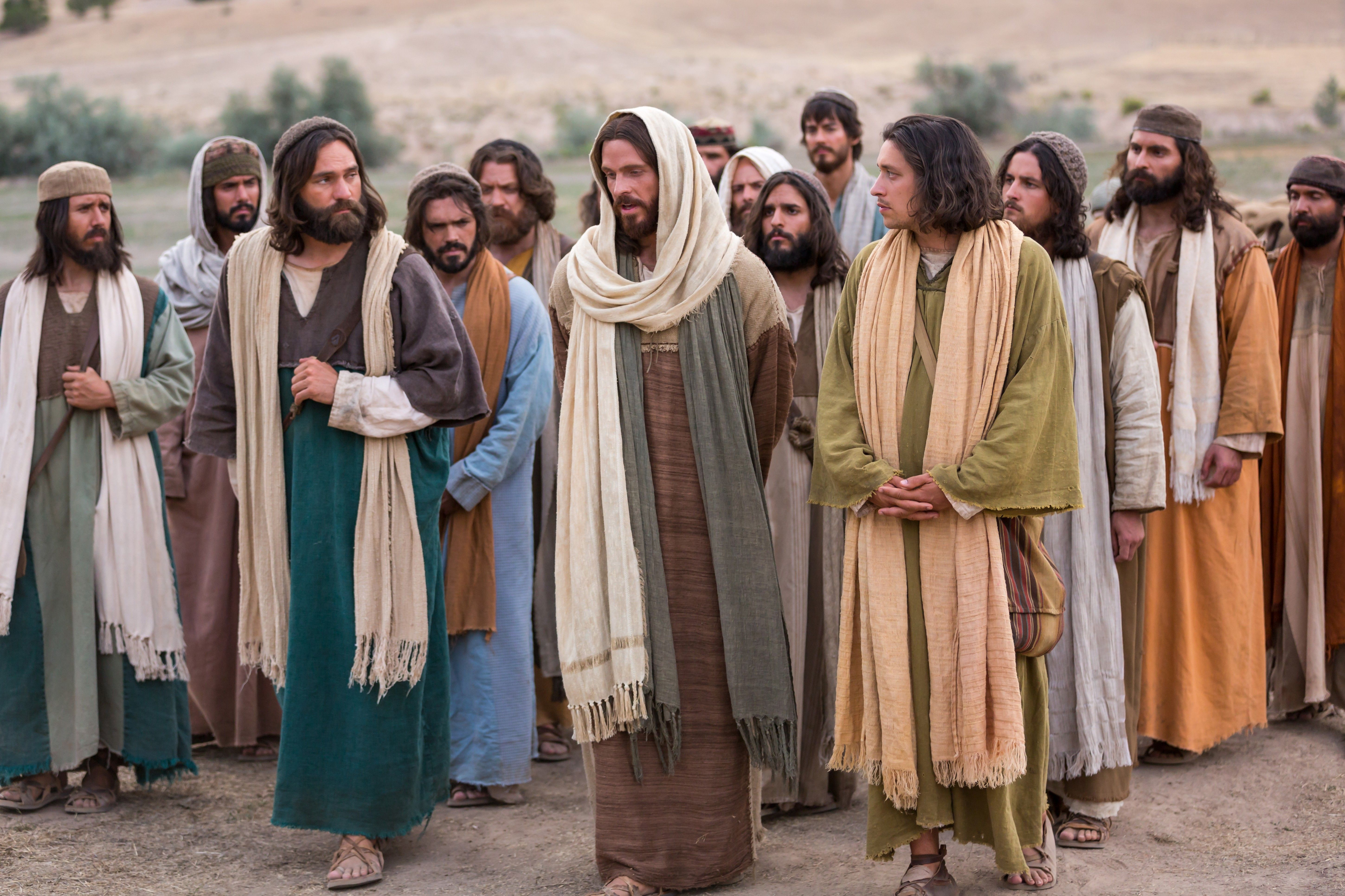 """Christ teaches John and the other Apostles that """"with God all things are possible."""""""