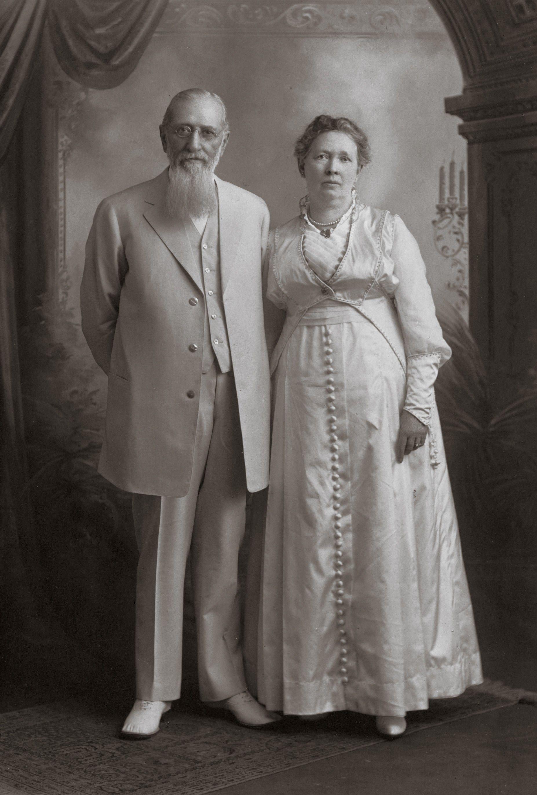 Joseph Fielding Smith's parents, Joseph F. Smith and Julina Lambson Smith. Teachings of Presidents of the Church: Joseph Fielding Smith (2013), 2