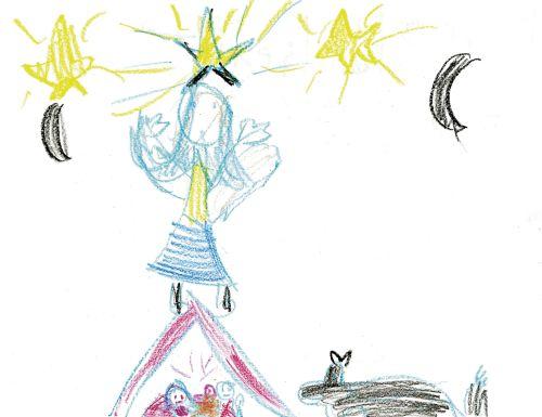 Nativity drawing
