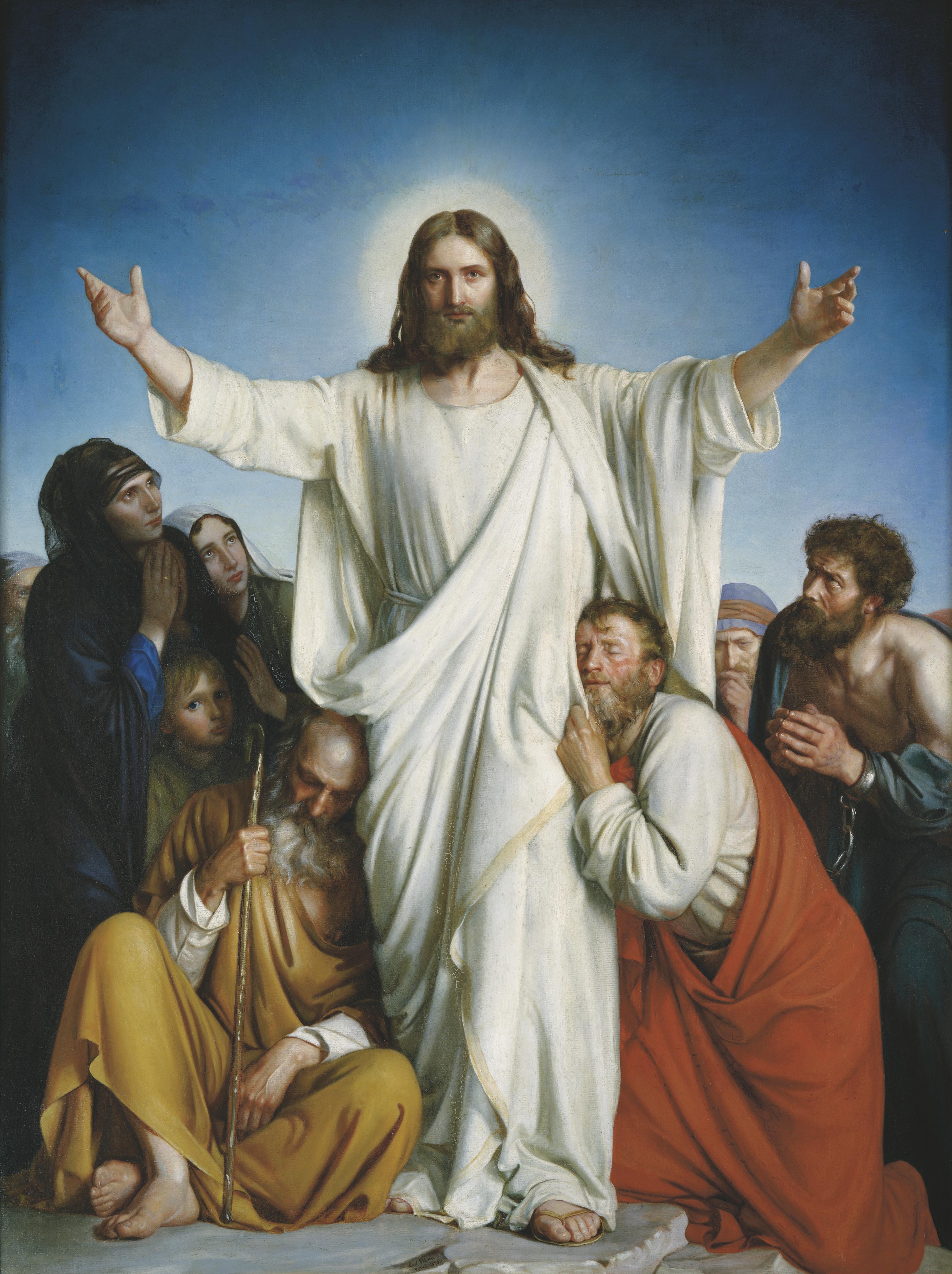Christus Consolator, by Carl Heinrich Bloch