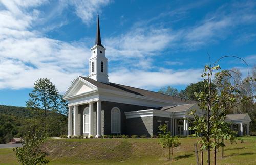 Priesthood restoration site visitors' center exterior