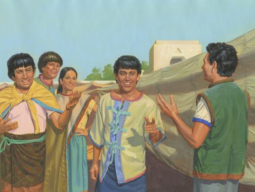 Nephites smiling