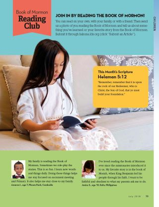 Liahona Magazine, 2018/07 Jul