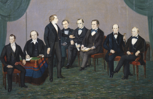 In Nauvoo 1843-1844 (Joseph Smith and His Friends)