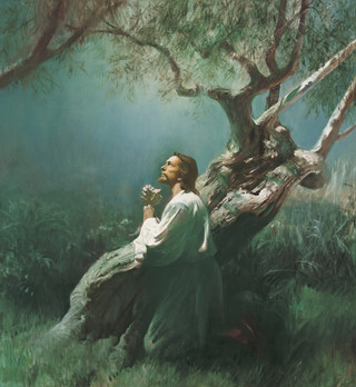 Christ in Gethsemane, by Harry Anderson