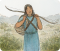Nephi carrying his bow