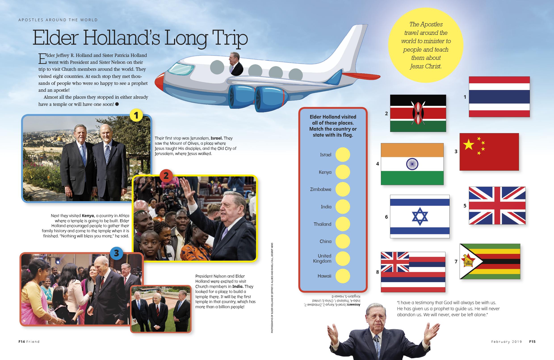 Elder Hollands Long Trip