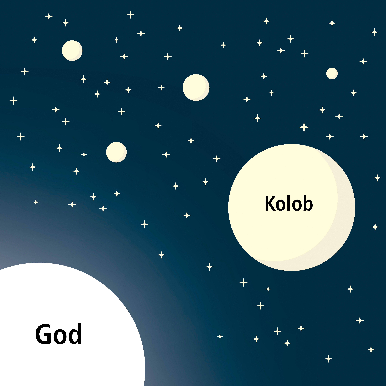 An illustration explaining Abraham's vision of the stars.