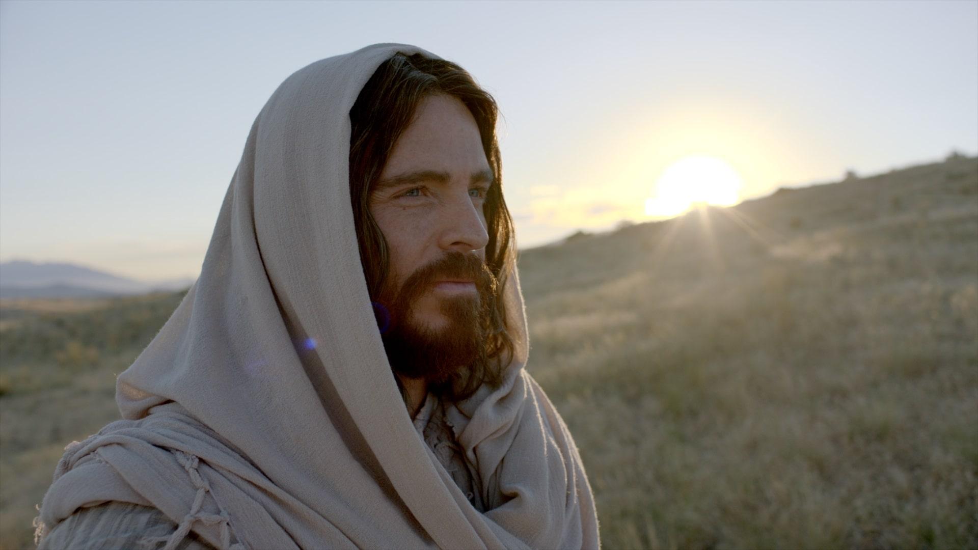 Chúa Giê Su mỉm cười mời gọi tất cả mọi người hãy đến với Ngài