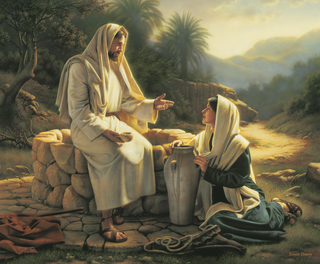 Living Water (Jesus and the Samaritan Woman)