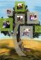 tree with photos
