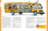 illustration of kids and animals on a school bus