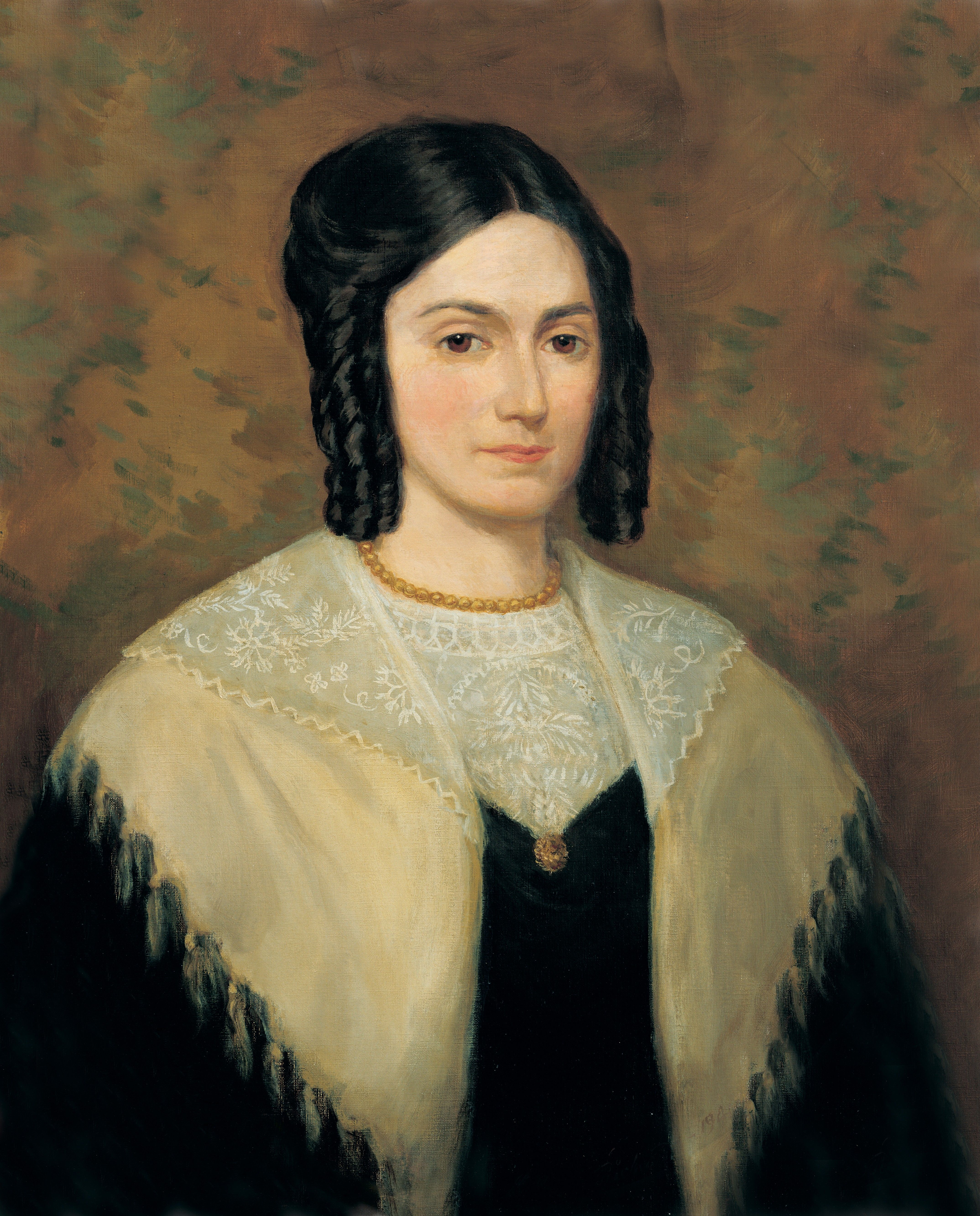 Emma Smith (Emma Hale Smith), by Lee Greene Richards (62509); GAK 405; GAB 88; Primary manual 5-22; Doctrine and Covenants 25. Emma Smith was the first Relief Society General President, serving from 1842 to 1844.
