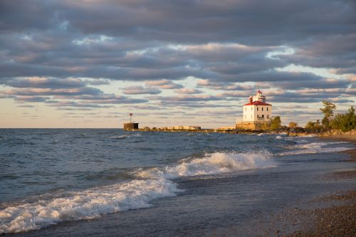 Special Project Church History Kirtland Lake Erie Lighthouse