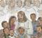 Jesus blessing the Nephite children.