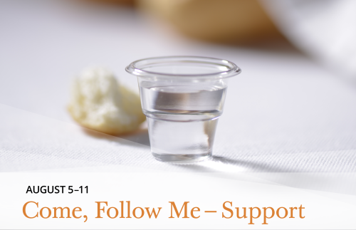 Come, Follow Me - Support August 5-11